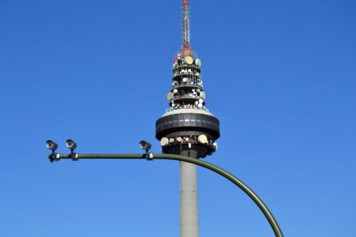 Radar de semáforo en Madrid