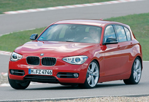 BMW 118d Sport (frontal)