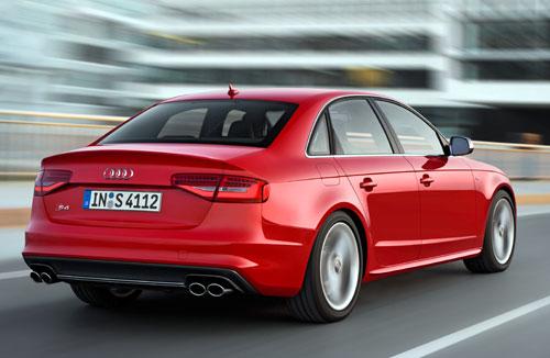 Audi S4 (trasera)
