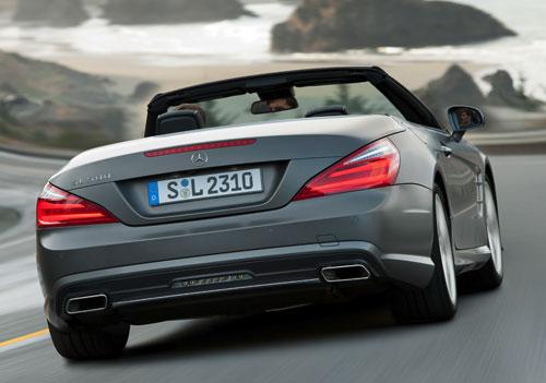 Mercedes-Benz SL (trasera)