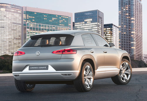 Volkswagen Cross Coupé (trasera)