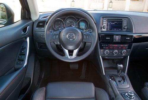 Mazda CX-5 (interior)