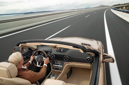 Mercedes-Benz SL (interior)