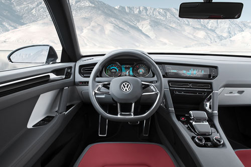 Volkswagen Cross Coupé (interior)