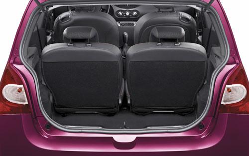 Renault Twingo (maletero)