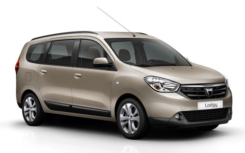 Dacia Lodgy (frontal)