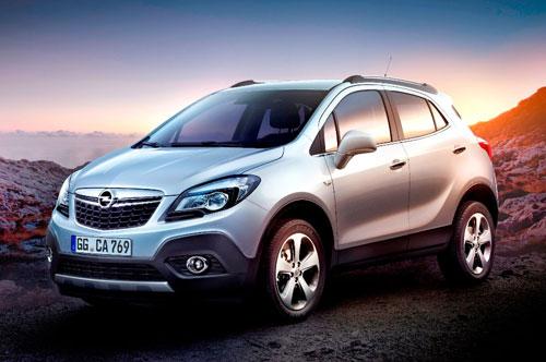 Opel Mokka (frontal)