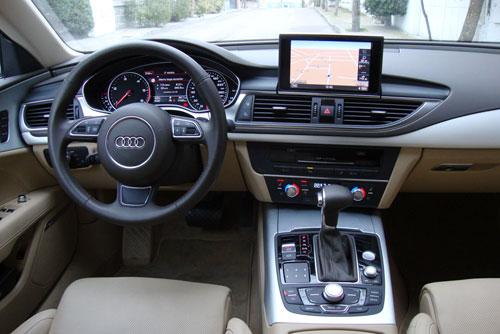 Audi A7 Sportback 3.0 TDI (interior)