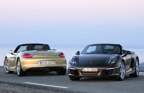 Porsche Boxster (frontal y trasera)