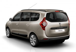 Dacia Lodgy (trasera)