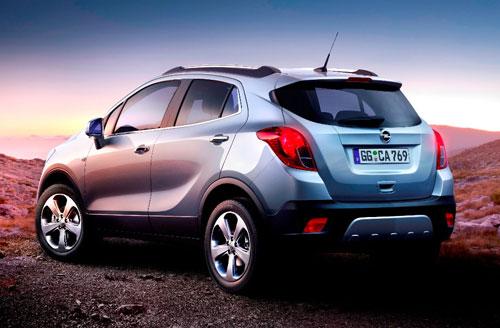 Opel Mokka (trasera)