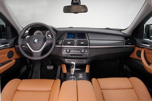 BMW X6 (interior)