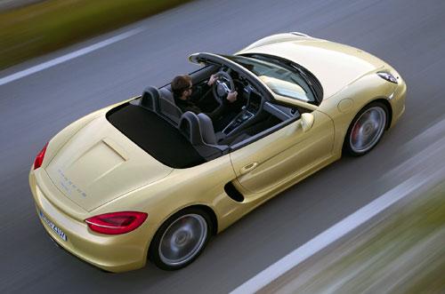 Porsche Boxster (aerea)