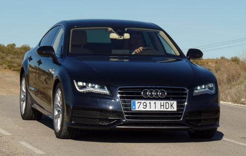 Audi A7 Sportback 3.0 TDI (frontal)
