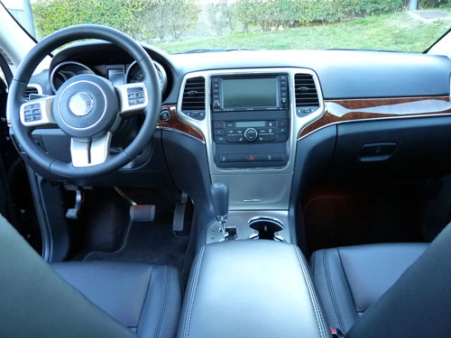 Jeep Grand Cherokee (interior)