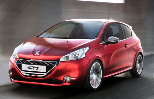 Peugeot 208 GTi Concept (frontal)