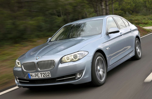 BMW ActiveHybrid 5 (frontal)
