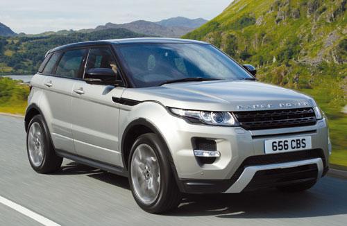 Range Rover Evoque SD4 Automático 4WD Dynamic 5p (frontal)
