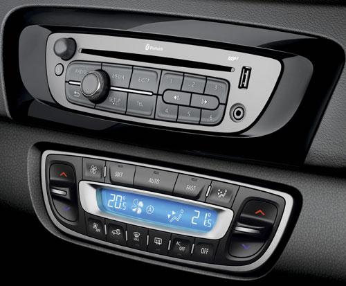 Renault Scenic y Grand Scenic (consola)