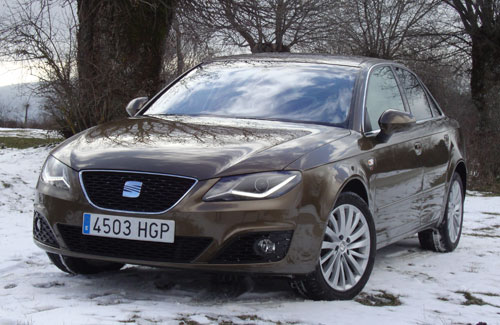 Seat Exeo 2.0 TDI CR Style (frontal)