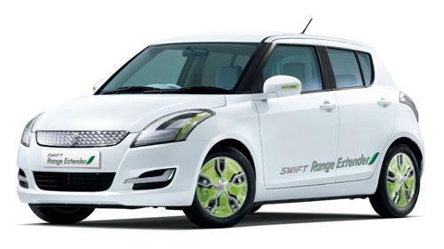 Suzuki Swift Range Extender en el Salón de Ginebra