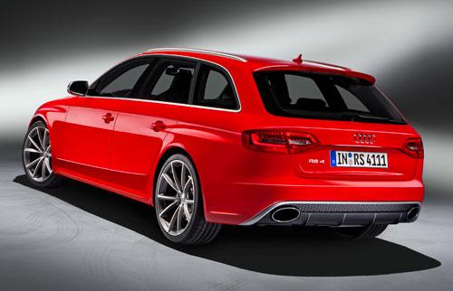Audi RS4 (trasera)