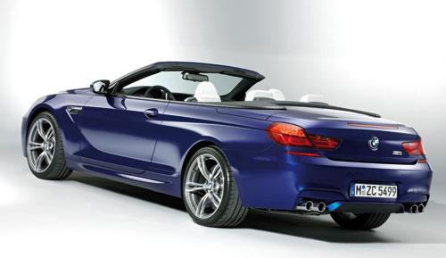 BMW M6 Coupé - Cabrio (trasera)