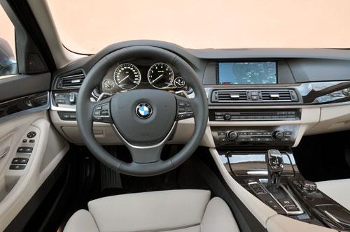 BMW ActiveHybrid 5 (interior)