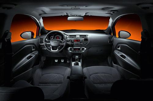 Kia Ria 3 puertas (interior)