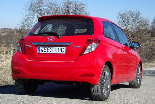 Toyota Yaris 1.4 D-4D Sport (trasera)