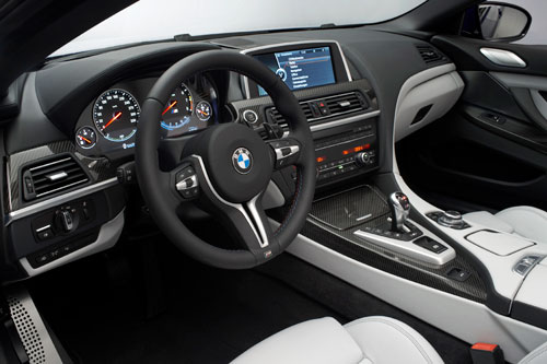 BMW M6 Coupé - Cabrio (interior)