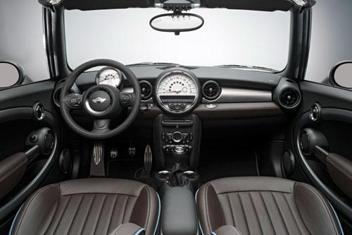 Mini Cabrio Highgate (interior) - Cooper, Cooper S, Cooper SD