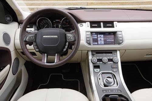Range Rover Evoque SD4 Automático 4WD Dynamic 5p (interior)