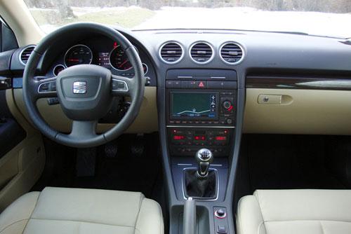 Seat Exeo 2.0 TDI CR Style (interior)
