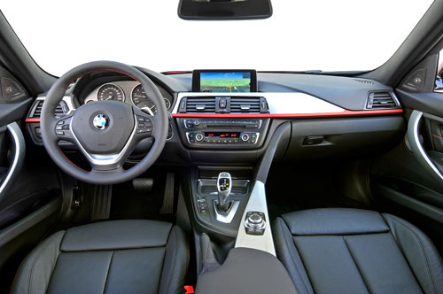 BMW Serie 3 (interior)