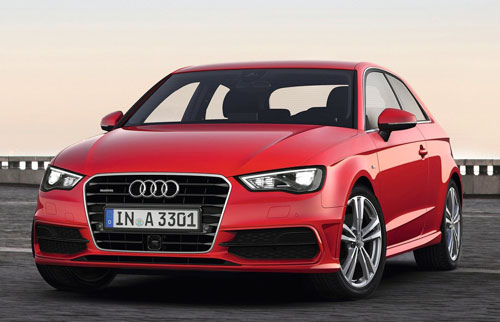 Audi A3 2012-2013 (frontal)