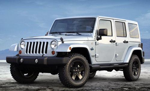 Versión especial Arctic del Jeep Wrangler
