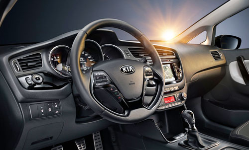 Kia Cee'd (interior)