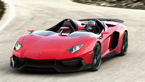 Lamborghini Aventador J (frontal)