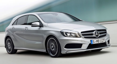 Mercedes-Benz Clase A (frontal)