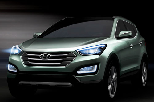 Hyundai Santa Fe (frontal)