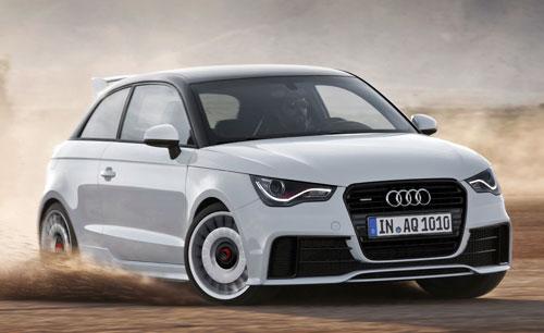 Audi A1 Quattro (frontal)
