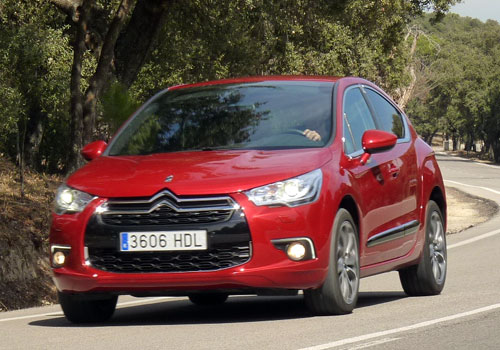 Citroen DS4 2.0 HDI 164 cv (frontal)