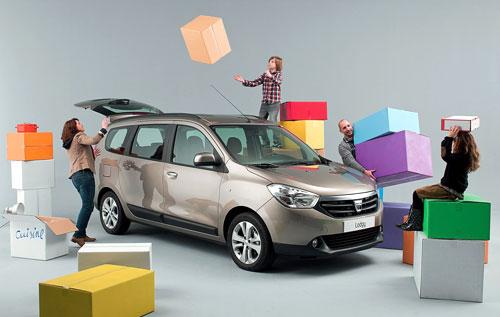 Dacia Lodgy (frontal) aprovechamiento máximo