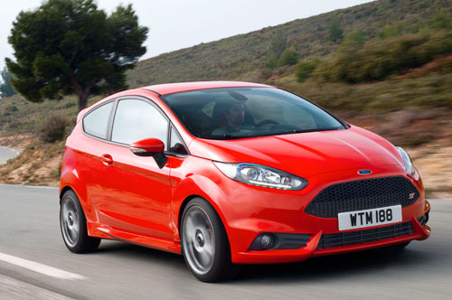 Ford Fiesta ST (frontal)