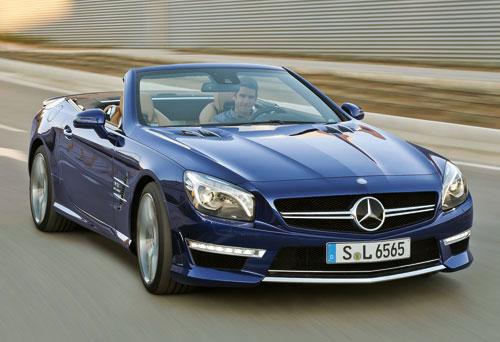 Mercedes-Benz SL 65 AMG (frontal)