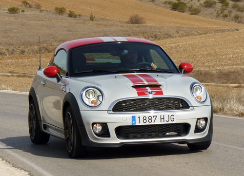 Mini Coupé John Cooper Works (frontal)