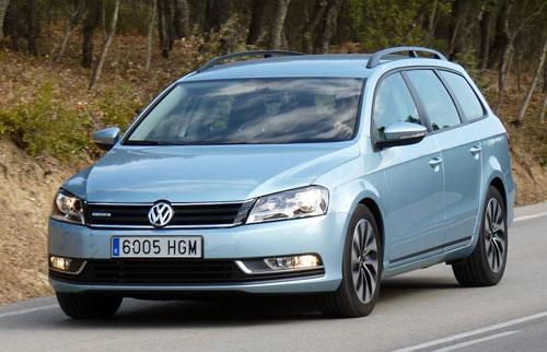 Volkswagen Passat Bluemotion TDI 105 CV (frontal)