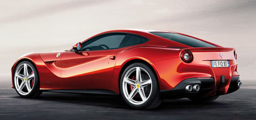 Ferrari F12berlinetta (frontal)