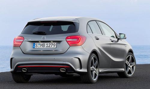 Mercedes-Benz Clase A (trasera)